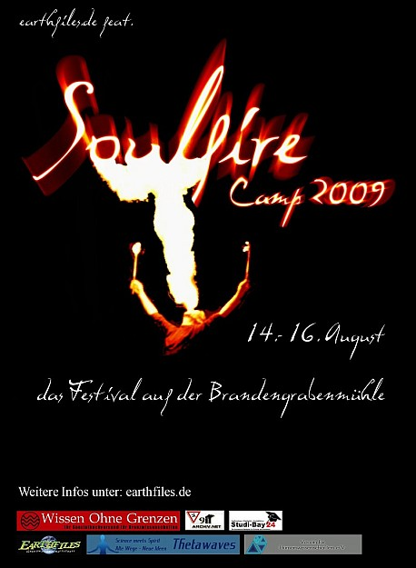 Soulfire Camp 2009 - Flyer