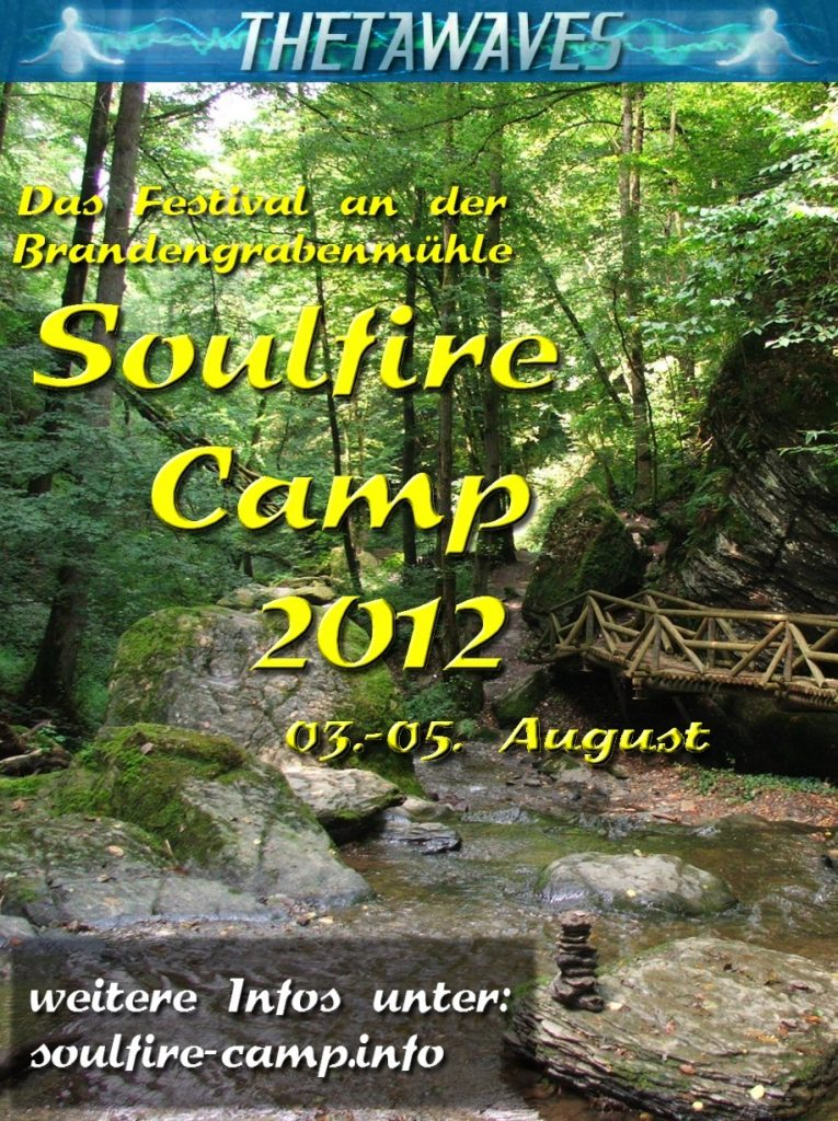 Soulfire Camp 2012 - Flyer
