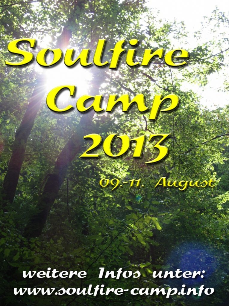 Soulfire Camp 2013 - Flyer