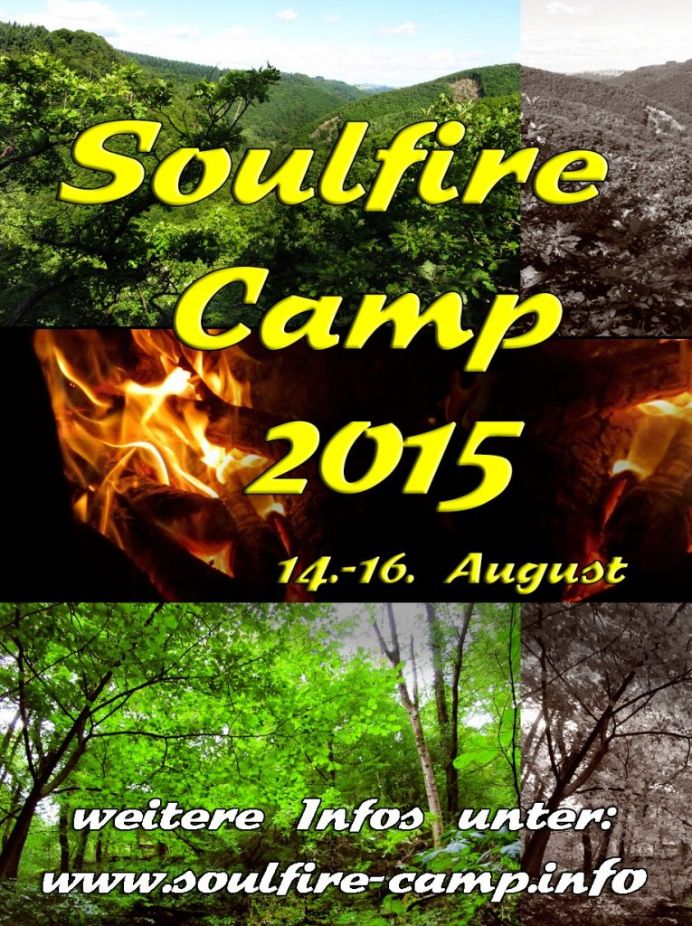 Soulfire Camp 2015 - Flyer